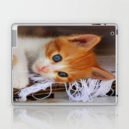 Gorgeous Blue Eyes Laptop & iPad Skin
