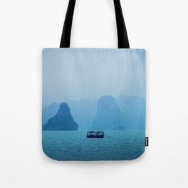 Ha Long Blues Tote Bag
