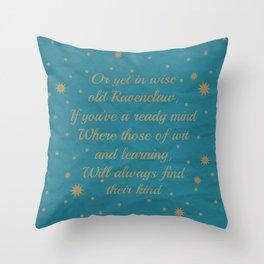 Ravenclaw House Pride Throw Pillow