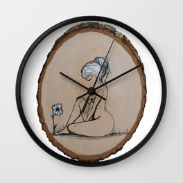 She Knew better Wall Clock