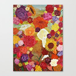 BlossomsbySea Canvas Print