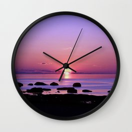 Beauty on the Saint-Lawrence Wall Clock