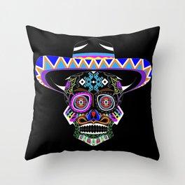 Don Charro Mariachi Throw Pillow