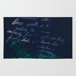 """Conquest of the Useless"" by Werner Herzog Print (v. 10) Rug"