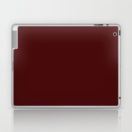 Simply Maroon Red Laptop & iPad Skin