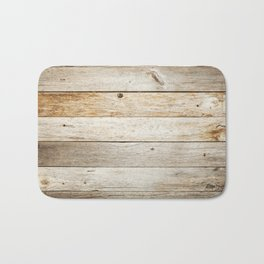 Vintage Wood Bath Mat
