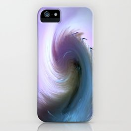 Swirled iPhone Case