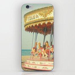 Seaside Carousel iPhone Skin