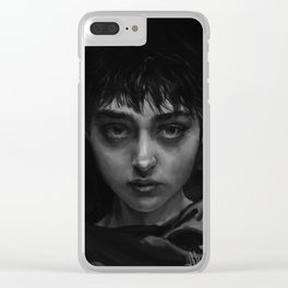 The Branded Girl Clear iPhone Case