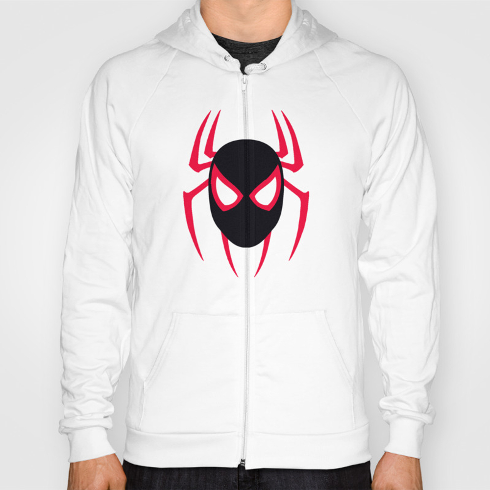 Spider Man Into The Spider Verse Hoody by Outlanders SSR8581450
