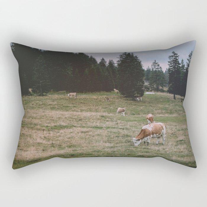 The Reality Rectangular Pillow