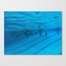 Underwater Games Canvas Print