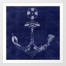 Anchor Me Art Print