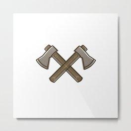 Hatchet Metal Print