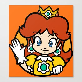 Princess of Sarasaland Canvas Print