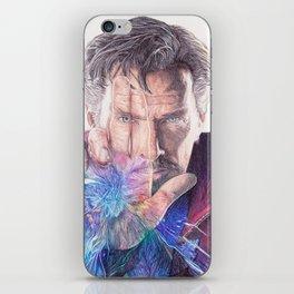 Dr Strange Pen Drawing iPhone Skin