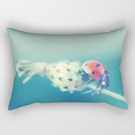 With the heart of a child, your dreams come true Rectangular Pillow