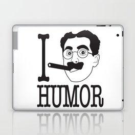 I __ Humor Laptop & iPad Skin