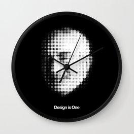 MASSIMO VIGNELLI (Tribute) Wall Clock