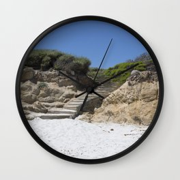 Carol M Highsmith - Steps Wall Clock