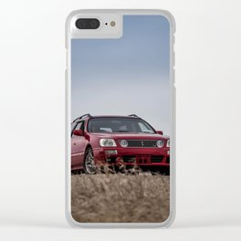 Nissan Stagea Clear iPhone Case