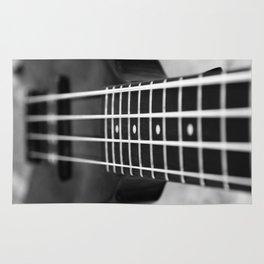 bass guitar Rug