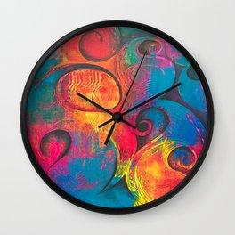 Repulsive Purity Wall Clock