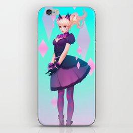 Black Cat Dva iPhone Skin