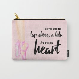 Tap shoes, tutu & heart Carry-All Pouch