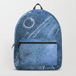 The Sea Turtle and Sea Nymph Backpack