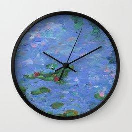 No Monet, No Problems Wall Clock
