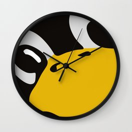 Linux tux Penguin eyes Wall Clock