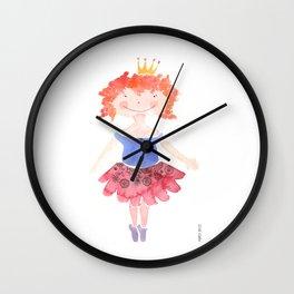 Ginger Princess Wall Clock