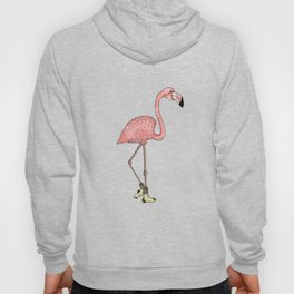 Flamingo Socks Hoody