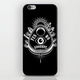 Call Me On the Ouija Board iPhone Skin