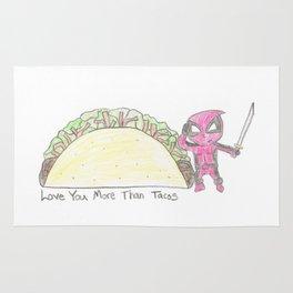 Merc Taco Sketch Rug