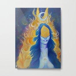 The Hierophant  (High Alchemist) Metal Print