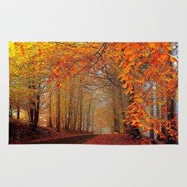 Autumn Parade Rug