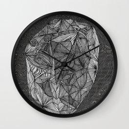Visage television Wall Clock