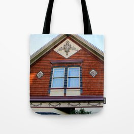 With Lace Curtains Of Course Tote Bag