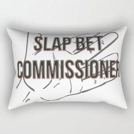 Slap bet commissioner Rectangular Pillow