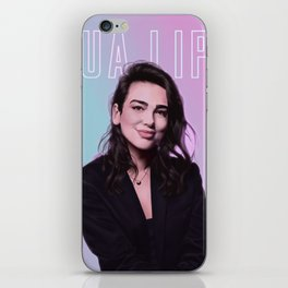 dua lipa iPhone Skin