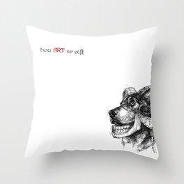 """""""Hybrid"""" Throw Pillow"""