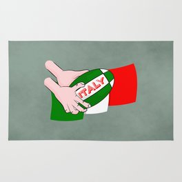 Rugby Italy Rug