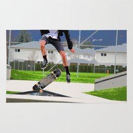 Missed Opportunity  - Skateboarder Rug