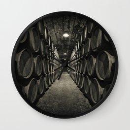 World of barrels Wall Clock