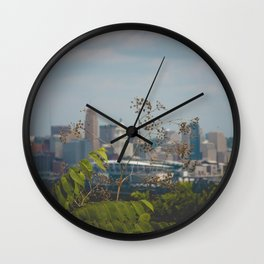 Cincinnati from Covington, Kentucky Wall Clock
