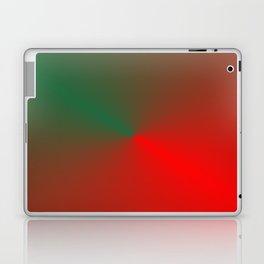 SURPRISE - RED GREEN HEART Laptop & iPad Skin