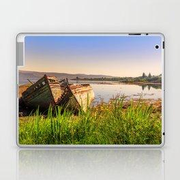 Old fishing boats Laptop & iPad Skin