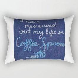 Coffee Spoons Rectangular Pillow